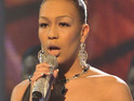 "Rebecca Ferguson describes her X Factor duet partner Christina Aguilera as a ""legend""."