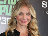 Cameron Diaz at a press conference for 'The Green Hornet' at The Ritz Carlton Hotel, Moscow