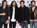Kings of Leon speak of their overwhelming feeling of joy at spotting Harry Potter's Daniel Radcliffe at a concert.