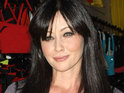 Shannen Doherty is concerned after a Twitter follower threatens suicide.