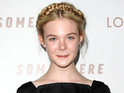 Somewhere star Elle Fanning suggests that she tried to follow her sister Dakota's career path.