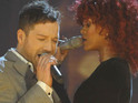 Matt Cardle jokes that he would need Viagra to have sex with X Factor duet partner Rihanna.