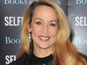 Jerry Hall signs copies of her book &#39;My Life in Pictures&#39; at Selfridges, London