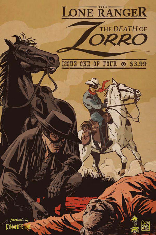 'The Death of Zorro' teaser from Dynamite