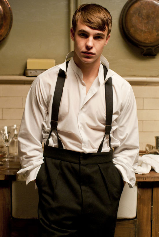 Nico Mirallegro in Upstairs Downstairs