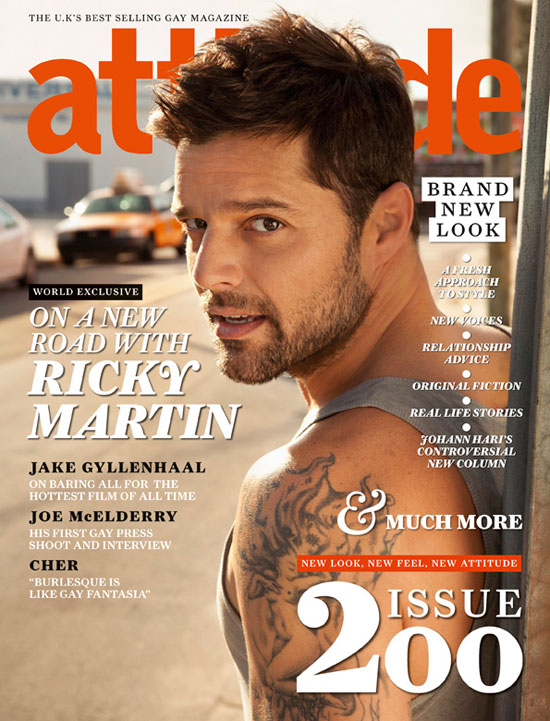 Attitude Magazine: Issue 200 Cover
