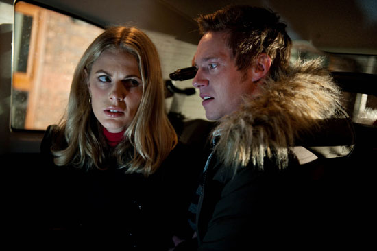 Rhys Ashworth (Andrew Moss) and Donna Air (Sophia)