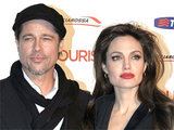 Brad Pitt and Angelina Jolie attending the Italian premiere of 'The Tourist' held in Rome, Italy