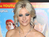 Pixie Lott making an appearance at a screening and photocall for 'Fred: The Movie' at London's West End Vue