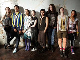 Skins season 5 cast - Mini, Nick, Grace, Franky, Matty, Rich, Alo and Liv