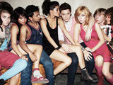 The cast of Skins USA season 1