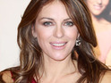 Elizabeth Hurley uses Twitter to give rumored boyfriend Shane Warne nutritional tips.