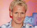 Gordon Ramsay's face swelling goes down following his reported hair transplant.