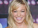 LeAnn Rimes has her wedding vows written on her ribcage to celebrate her marriage to Eddie Cibrian.