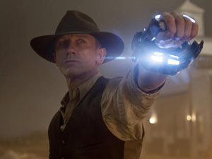 Daniel Craig as Jack Lonerganin 'Cowboys & Aliens'