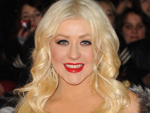 Christina Aguilera arriving at the Burlesque UK film premiere in Leicester Square
