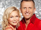 Dominic Cork and Alexandra Schauman on Dancing on Ice