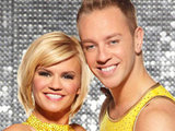 Kerry Katona and Daniel Whiston on Dancing on Ice