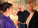 Amy is delighted when Val tells her she can stay