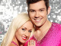 Sam Attwater beats Laura Hamilton  to the Dancing On Ice trophy.