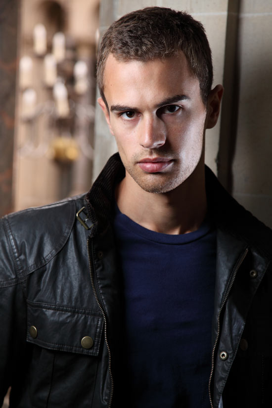 Theo James as Four Divergent