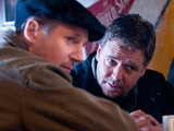 Liam Neeson and Russell Crowe in 'The Next Three Days'