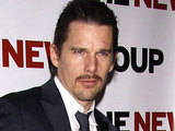 Ethan Hawke at the cast party for the world premiere production of 'Blood From a Stone'