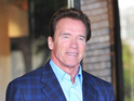 A former star who claimed an affair with Arnold Schwarzenegger says that their lovemaking put her in hospital.