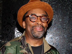Spike Lee at the after party for the closing night of the Broadway musical &#39;Fela!&#39;