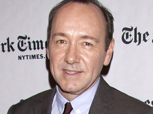 Kevin Spacey at the 10tyh Annual New York Times Arts & Leisure Weekend Event