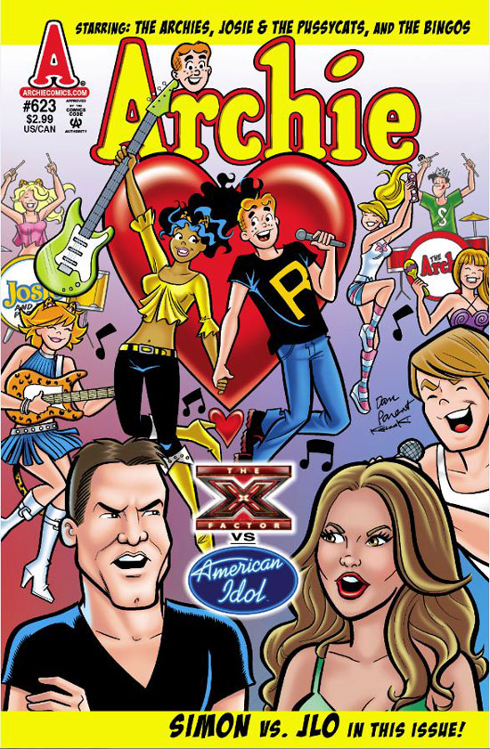 Archie #263: X Factor vs. American Idol