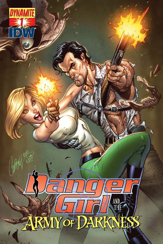 'Danger Girl and The Army of Darkness' #1