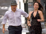 Matt Damon and Emily Blunt in 'The Adjustment Bureau'