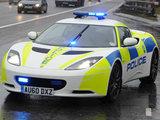 Lotus Evora police pursuit vehicle