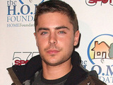 Zac Efron at the STIKS Celebrity Video Game Challenge for Charity