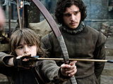Jon Snow and Bran Stark from Game of Thrones