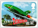 Royal Mail launches Thunderbirds and Captain Scarlet stamps in honor of Gerry Anderson.