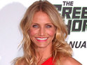Cameron Diaz says that she is flattered to be nominated for a Nickelodeon Kids' Choice award.