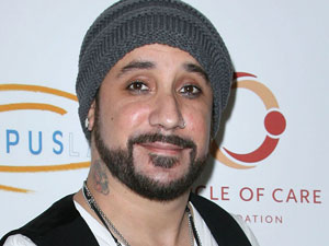 Backstreet Boy AJ McLean