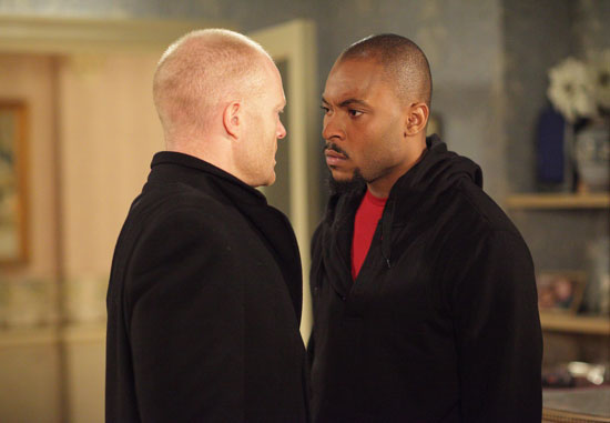 Connor [ARINZE KENE], Max Branning [JAKE WOOD]