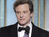 Colin Firth delivers his winner's speech.