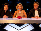 The judges on Britain's Got Talent 2011