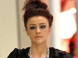 X Factor finalist Cher Lloyd out and about shopping at the Beverly Centre in Los Angeles