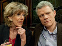 Coronation Street's Audrey Roberts is to discover a big secret about her new love interest Marc.