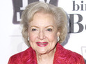 90-year-old comedienne Betty White posts her first messages on Twitter.