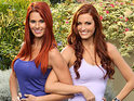 The former NFL cheerleaders talk about their difficult final leg on The Amazing Race.