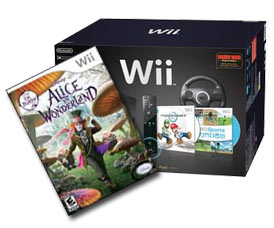 Facebook competition - Wii and Alice