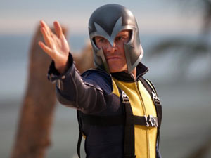 Michael Fassbender as Magneton in 'X-Men: First Class'