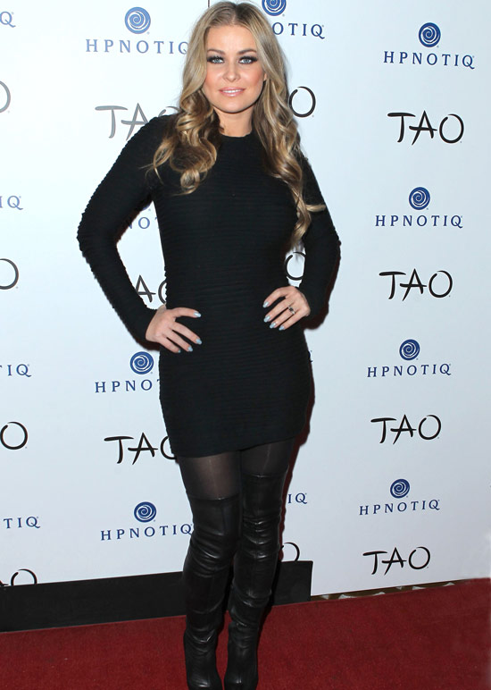 Carmen Electra hosts TAO's fifth annual 'Tao A Go Go' contest