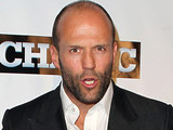 Jason Statham at the Las Vegas premiere of 'The Mechanic'